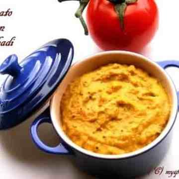 tomato onion pachadi