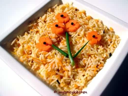 Carrot pulihora