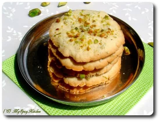 Easy Lime Cookies, Anjum Anand, New Indian