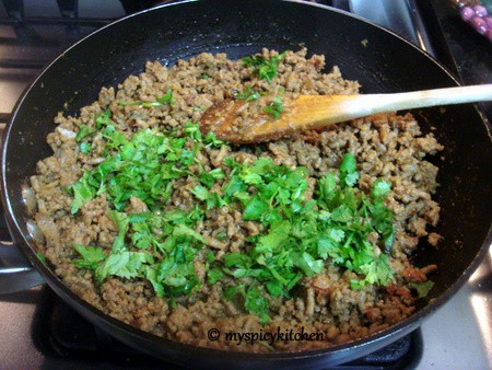 Ground Turkey Fry, Sauteed ground turkey