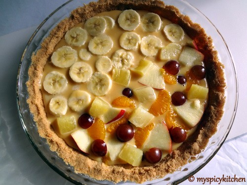 Banoffee Pie, Banana toffee pie, sweet punch, fruit toffee pie, fruitoffee pie