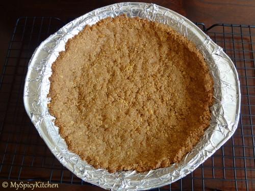 Mexican Chocolate Pie, Cooking Light, Chocolate Mela, Blogging Marathon, Chocolate Pie