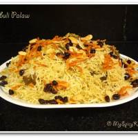 Kabuli Palaw, National Dish of Afghanistan