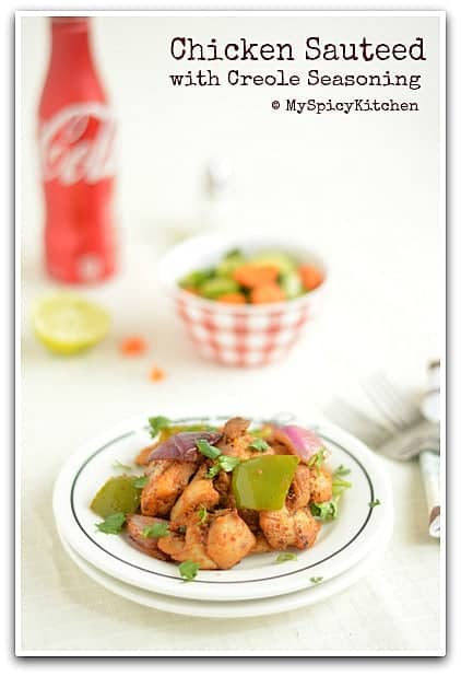 Creole Chicken, Low Carb Recipe,