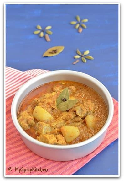 Bangladesi Chicken Curry V
