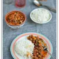 Peru - Garbanzo con Acelga ~ Chickpeas Swiss Chard Stew