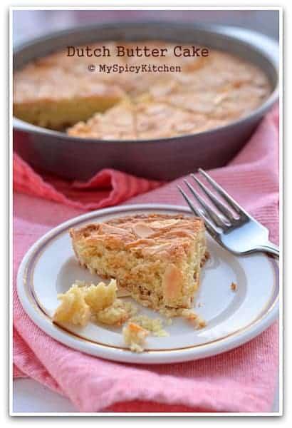 Dutch Butter Cake, Bake-a-thon, International Food Challenge