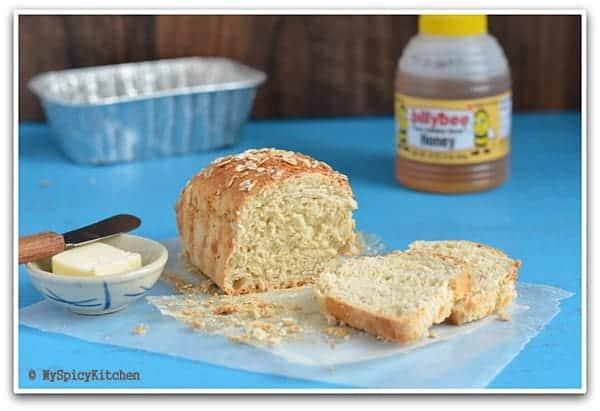 Honey Oats Bread 1