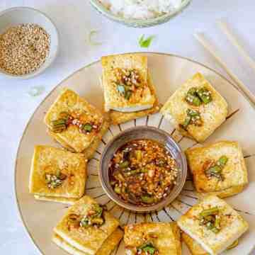 Korean Food, Korean Cuisine, Food of the World, Spicy Tofu