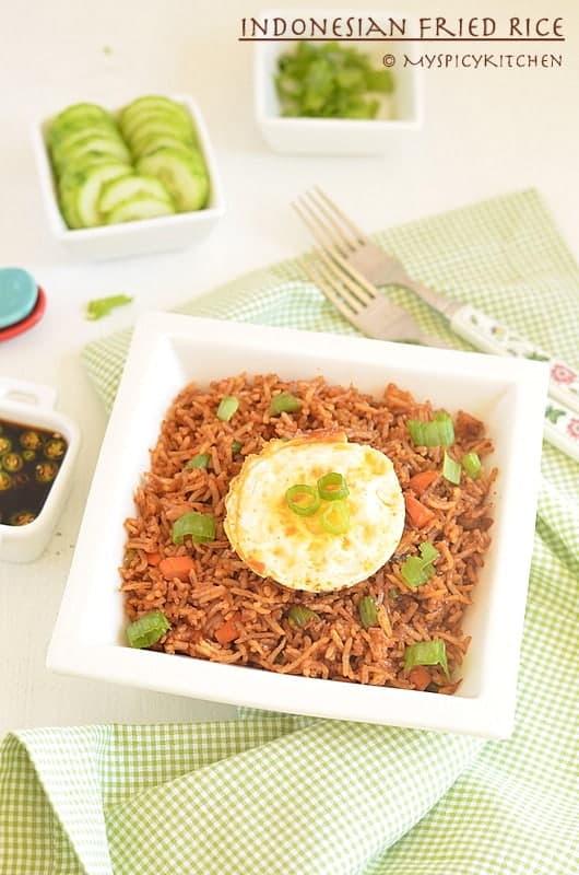 Indonesian Fried Rice ~ Nasi Goreng 4