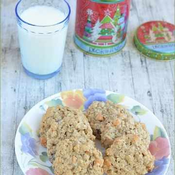 Home Bakers Challenge, Oats Cookies, Cookies, Butterscotch Cookies,