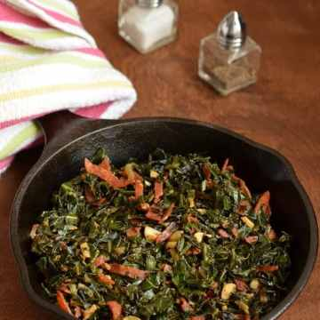 Collard Greens, Pepperoni, Food & Wine, Cooking from Cookbook Challenge, CCChallenge, Side Dish, Thanksgiving Recipes,