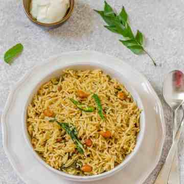 Tamarind Rice, Tamarind Pulihora, Chintapandu Pulihora, Pulihora, Tamarind Flavored Rice,
