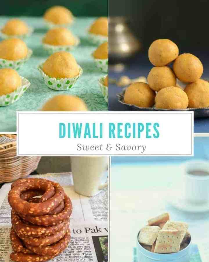 Sweet & Savory Diwali Recipes Roundup