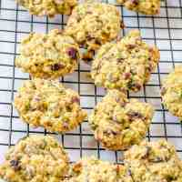 Zucchini Oats Chocolate Cookies