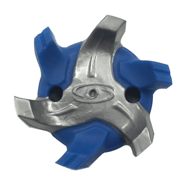 Soft Spikes - Cyclone Fast Twist Silver/Blue set of 18