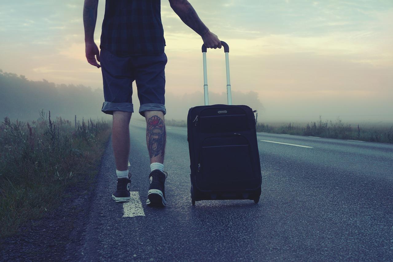 Reisen mit wenig Gepäck