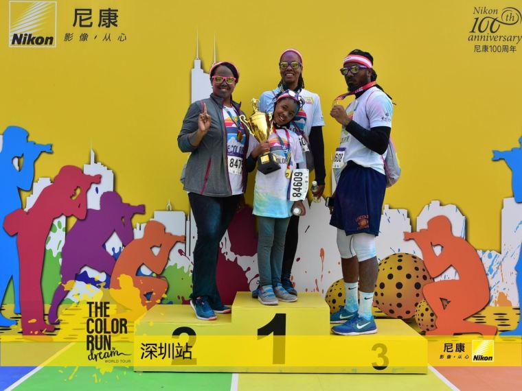 the color run shenzhen china