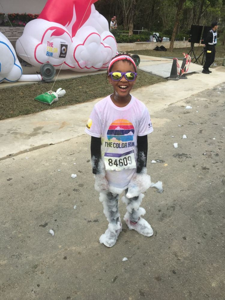 The Color Run Shenzhen china november