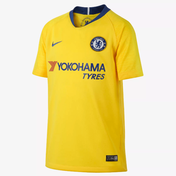 Chelsea Fc 2018 19 Away Jersey Yellow