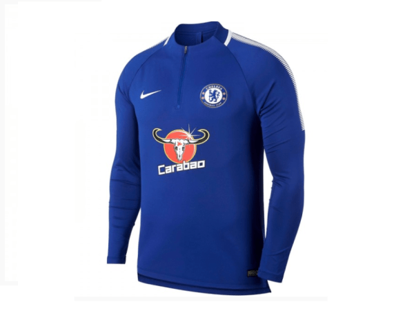best sneakers 70ab1 34074 Chelsea FC Tracksuit | 2017/18 - Authentic Nike
