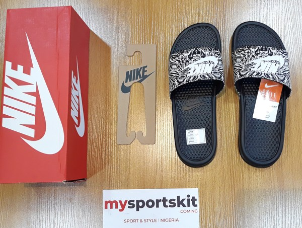 Nike Benassi JDI Print Slide - Canvas - mysportskit