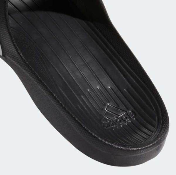 Adidas Black Duramo Slide