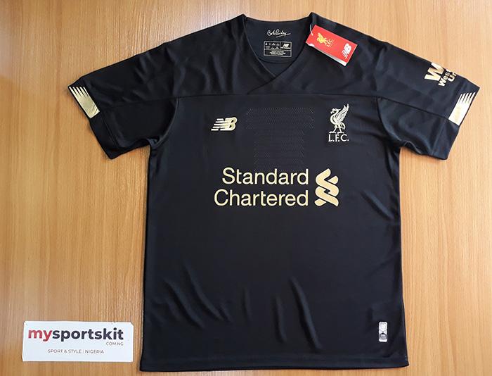 new concept 3278e 42924 Liverpool FC 2019/20 Black Jersey