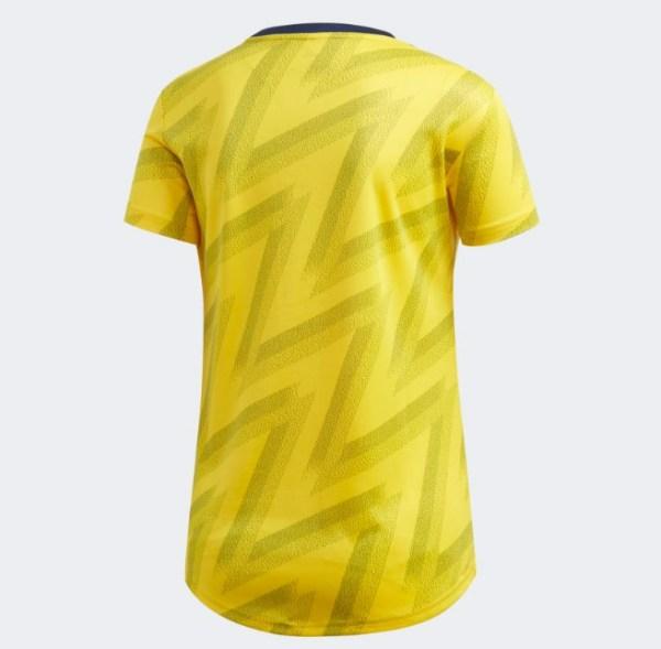 Arsenal FC 2019/20 Away Female Jersey back