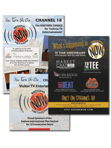 Layout and Design for Sedona Now Network