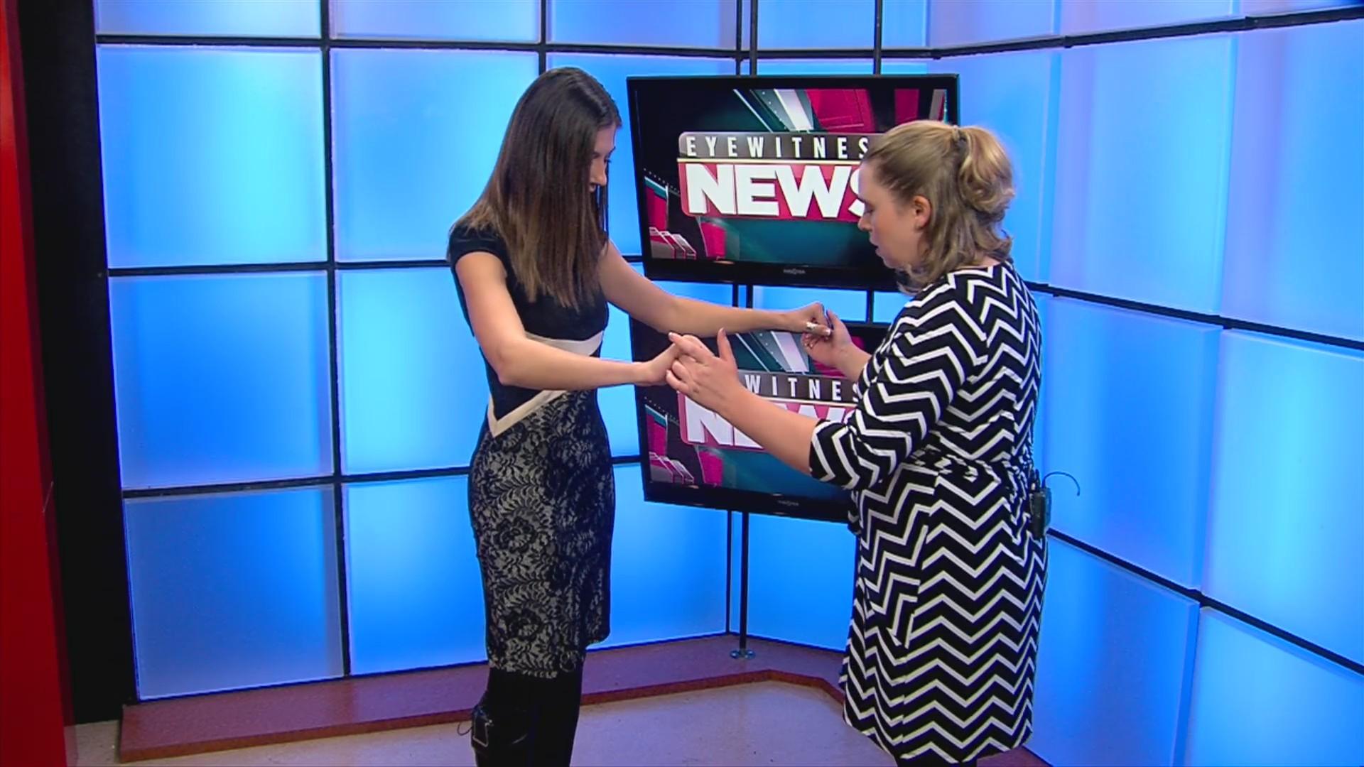 Kathleen Cohen makes her Dancing with Eyewitness News debut