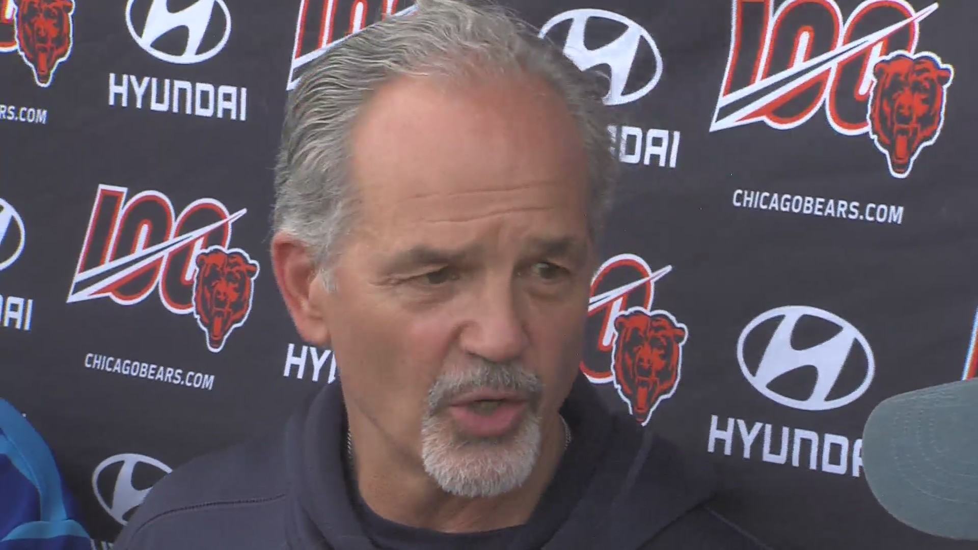 Pagano recognizes talent in Bears defense, won't change much for now