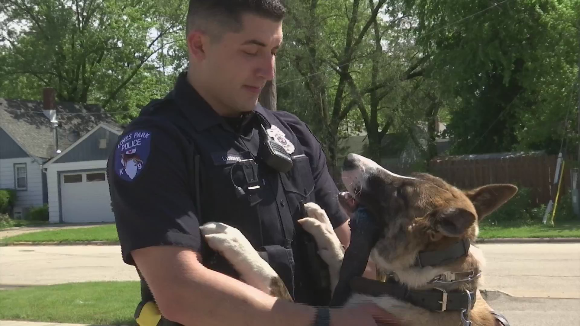 Loves Park K-9 and handler build a special bond