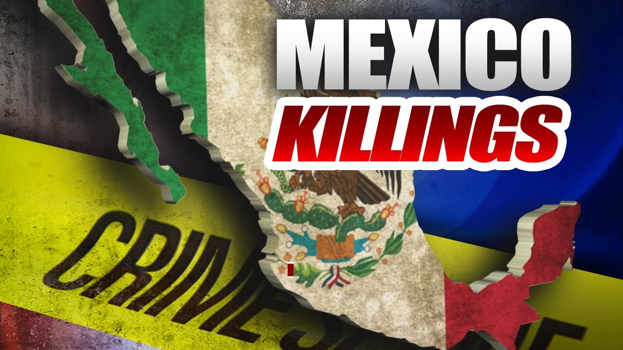 19 bodies hung from bridge or hacked up in Mexico gang feud