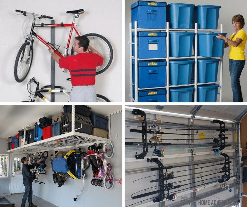 21 of the Best Garage Organization Ideas * My Stay At Home ... on Organized Garage  id=28735