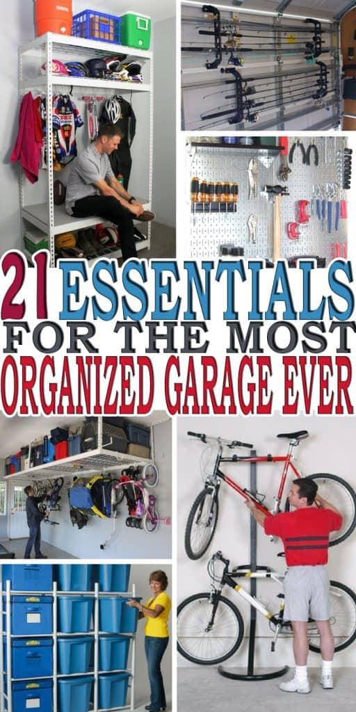 21 of the Best Garage Organization Ideas * My Stay At Home ... on Organized Garage  id=11590