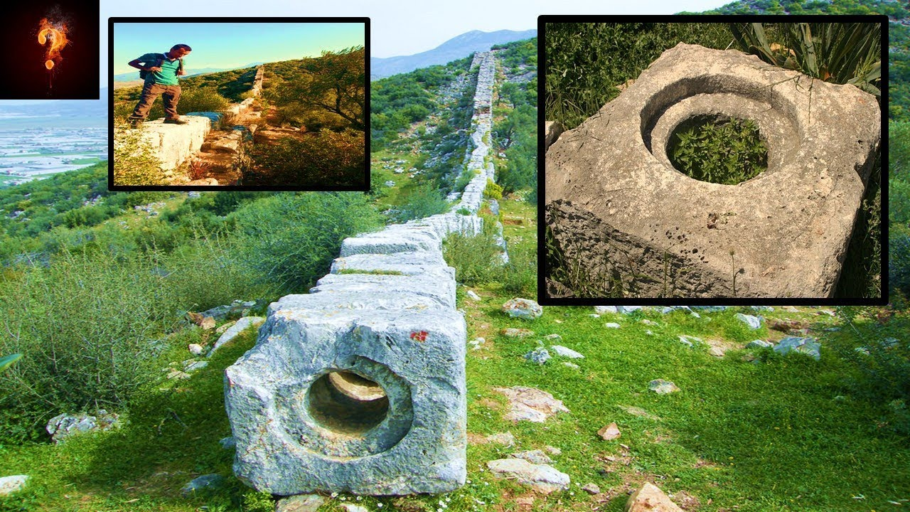 """Patara Pipes"" Ancient High-Technology Hidden In Turkey? - Mysterious Times"