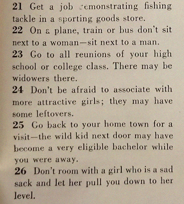 129 Ways To Get Husband Post From 1958 Is Hilarious Af: This '129 Ways To Get A Husband' Article From 1958 Shows