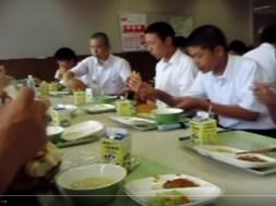 Μεσημεριανό σε σχολείο στην Ιαπωνία