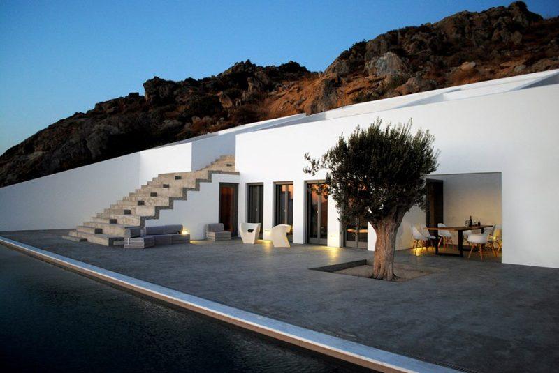 vacation house at naxos