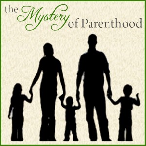 Mystery of Parenthood Podcast Logo
