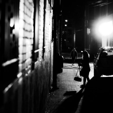 Noir photography Mike Maguire - Shadowtown