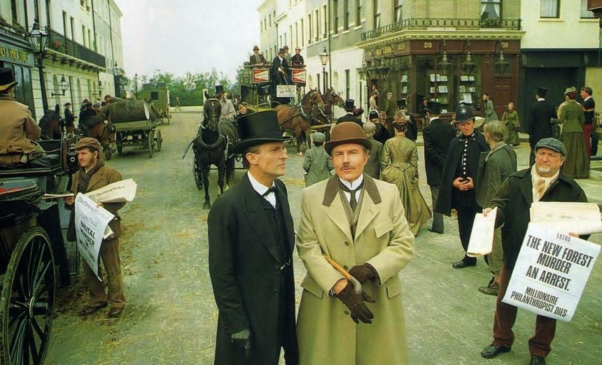 sherlock holmes crime shows top tv