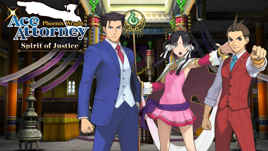 Ace Attorney game app mystery detective