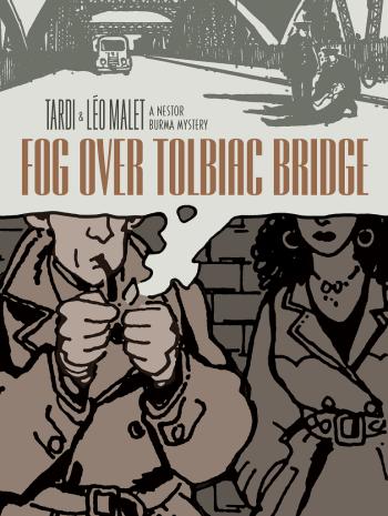 Fog Over Tolbiac Bridge A Nestor Burma Mystery best mystery and thriller book covers 2017