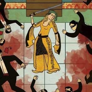 Turkish Artist Murat Palta Recreates Cult Movie Scenes As Ottoman Miniature Art main