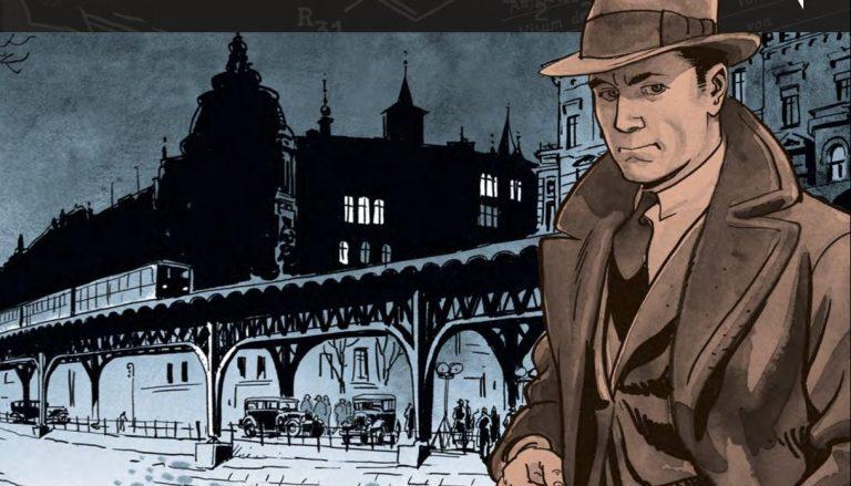 A Conversation With Arne Jysch On Graphic Novel Babylon Berlin