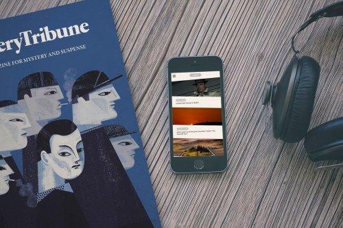 Subscribe Mystery Tribune Magazine Member