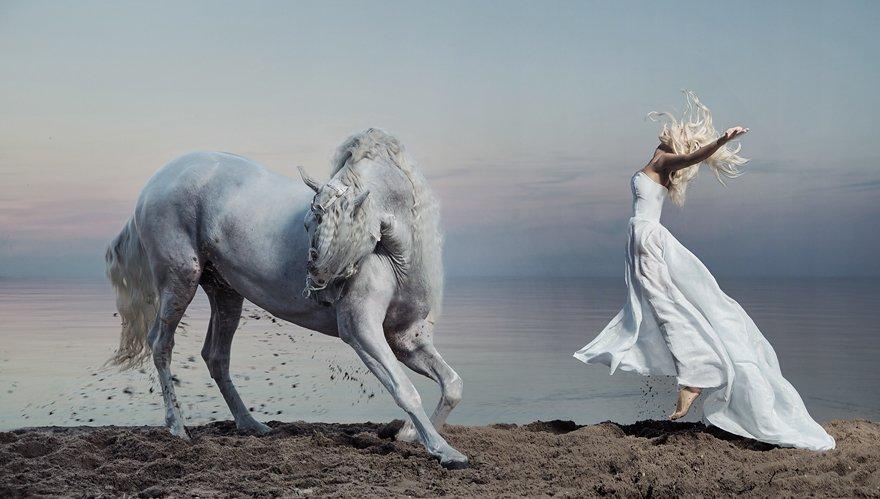 In A Rush Konrad Bak Surreal Photography