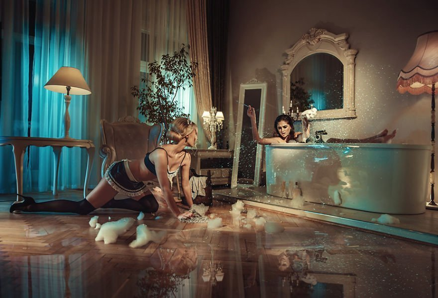 In Her Room I Konrad Bak Surreal Photography